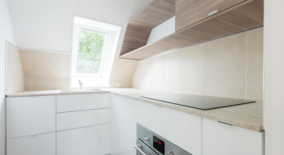 Küche Appartement Hotel Wegner
