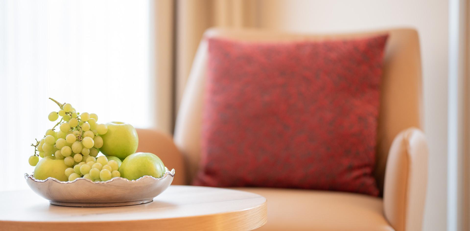 Sitzecke Villa 2 Hotel Wegner - The culinary Art Hotel - The culinary Art Hotel