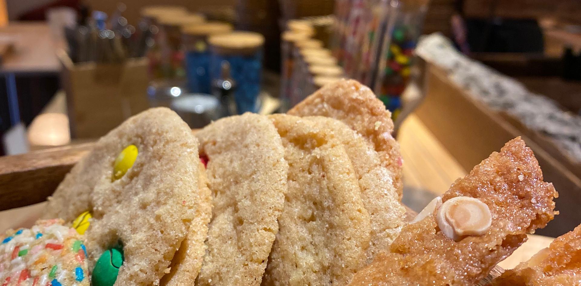 selbstgemachte Kekse Lunch & Sweet - Hotel Wegner - The culinary Art Hotel