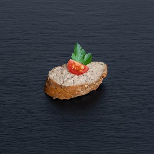 Bruschetta mit Steinpilz-Pâté