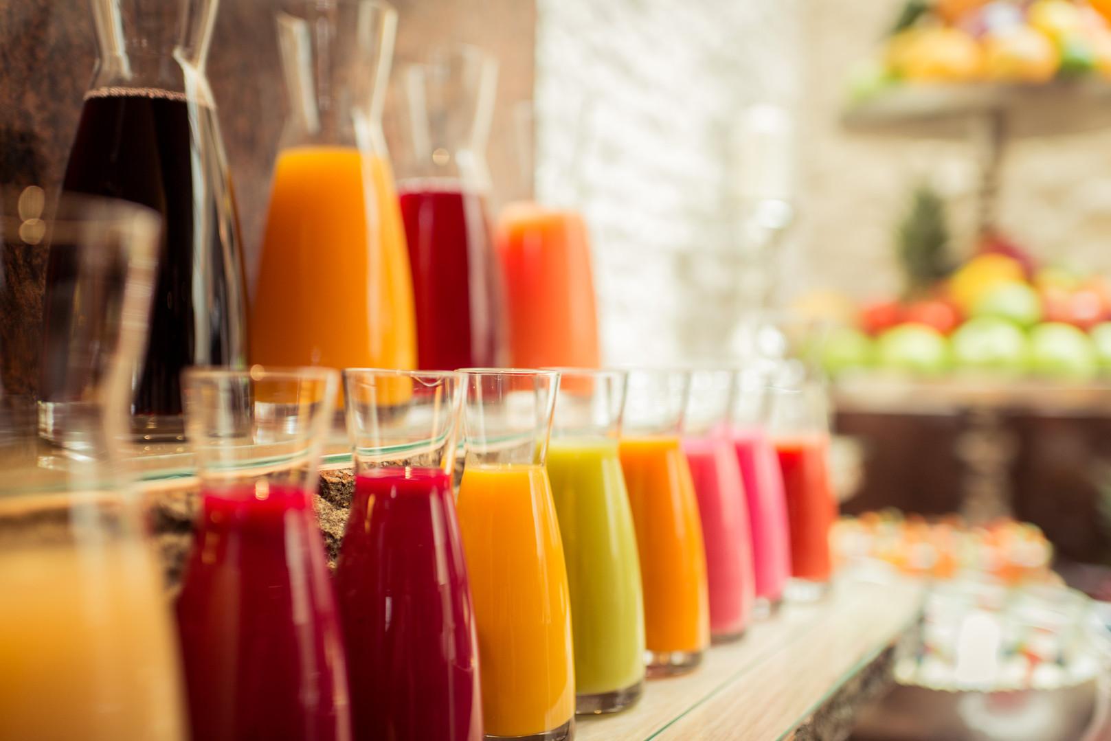 Säfte im Hotel Wegner - the culinary art hotel