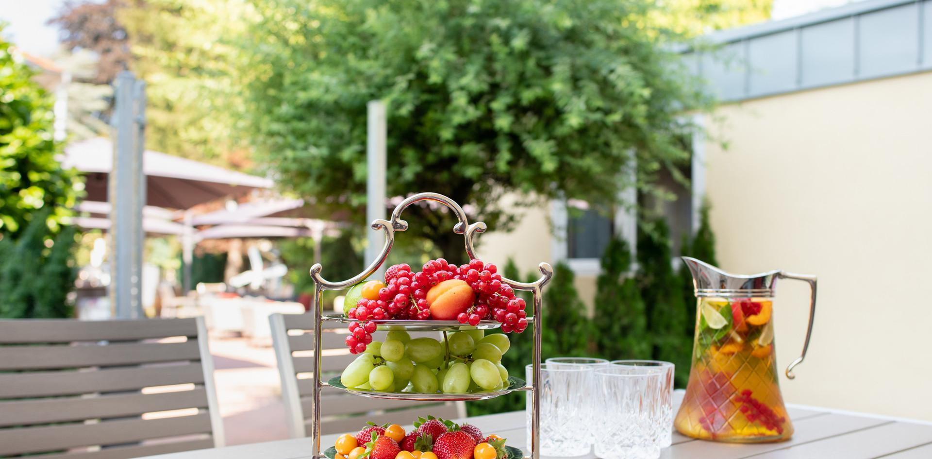 Sommererfrischung Hotel Wegner - The culinary Art Hotel