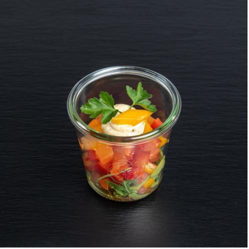 Paprika-Papaya-Salat
