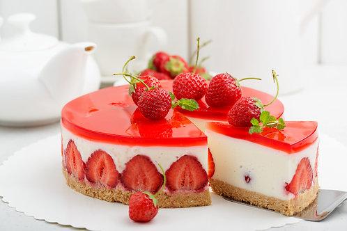 Erdbeersahnetorte