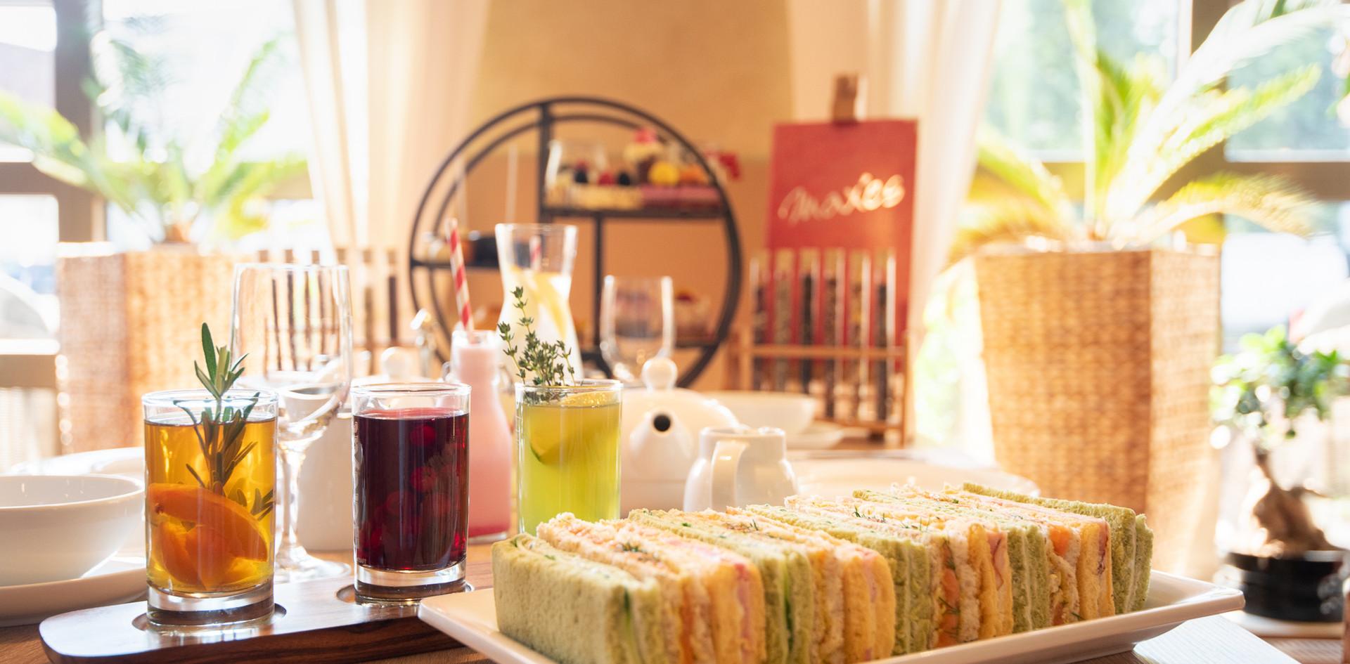 Sandwiches Afternoon Tea - Hotel Wegner - The culinary Art Hotel