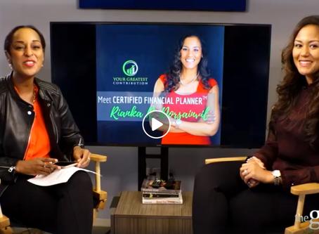 Rianka Joins theGrio to Talk Personal Finance and Entrepreneurship