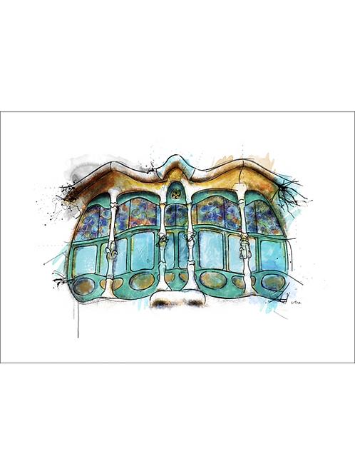 Ventana Casa Batlló