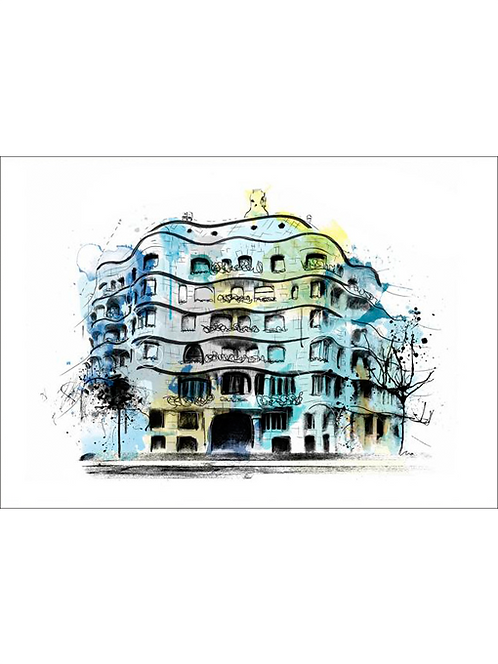 Casa Milà. Pedrera