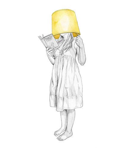 Mujer Lámpara