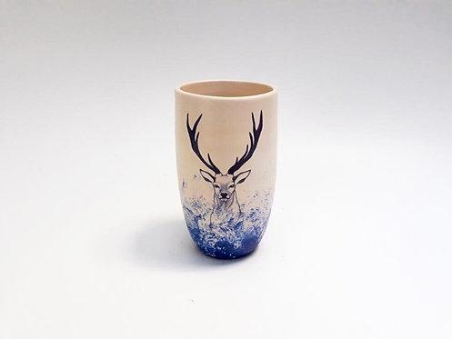 Deer vase