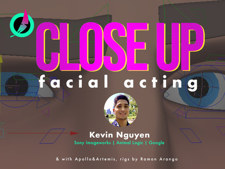 Adding Fleshiness To a Facial Performance - With Kevin Nguyen.