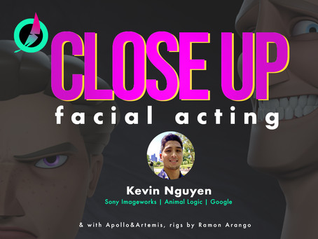 Close Up Facial Acting in Animation