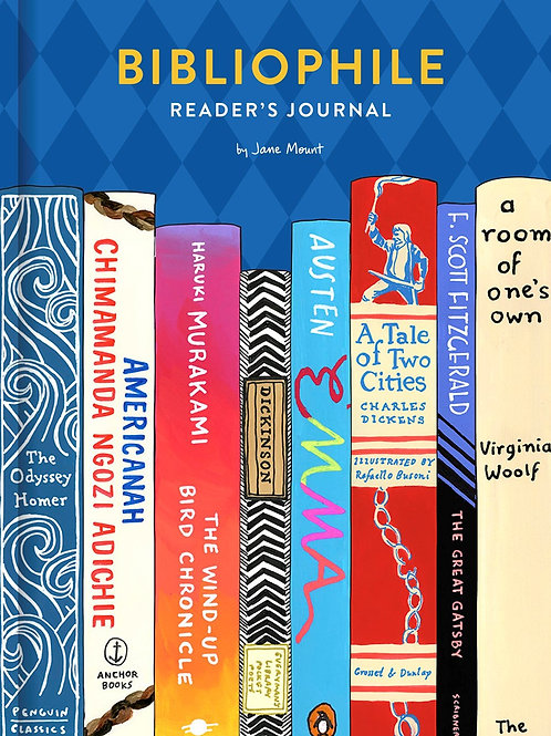 Bibliophile Reader's Journal: Gift for Readers & Writers