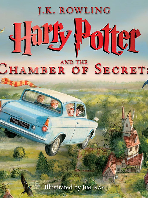 Harry Potter & The Chamber Of Secrets: The Illustrated Edition