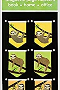 Sloth i-clips Bookmarks