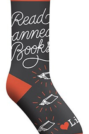 Read Banned Books Socks (Gs)