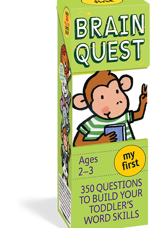 My First Brain Quest: 350 Qs&As to Build Your Toddlers Word Skills (Revised)