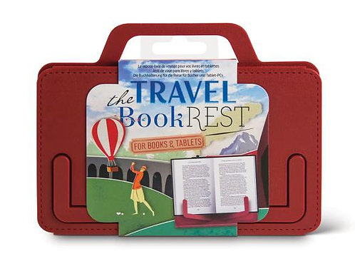 Travel Book Rest - Country Crimson