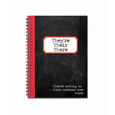 "They're, Their, There Notebook | 5"" x 7"""