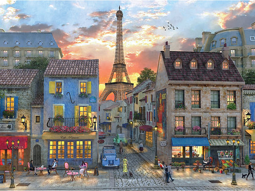Puzzle Evening in Paris