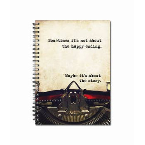 """Maybe It's About The Story Notebook   5"""" x 7"""""""