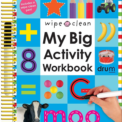 Wipe Clean: My Big Activity Workbook