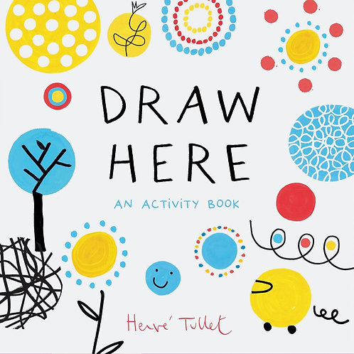 Draw Here Activity Book