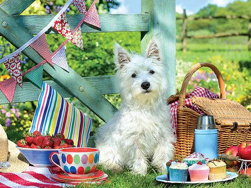Scottie Dog Picnic Puzzle