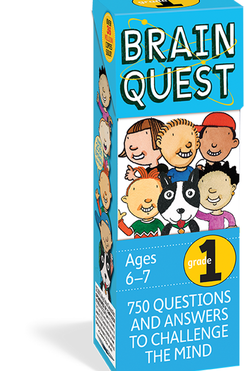 Brain Quest Grade 1, Revised 4th Edition: 750 Qs&As to Challenge the Mind