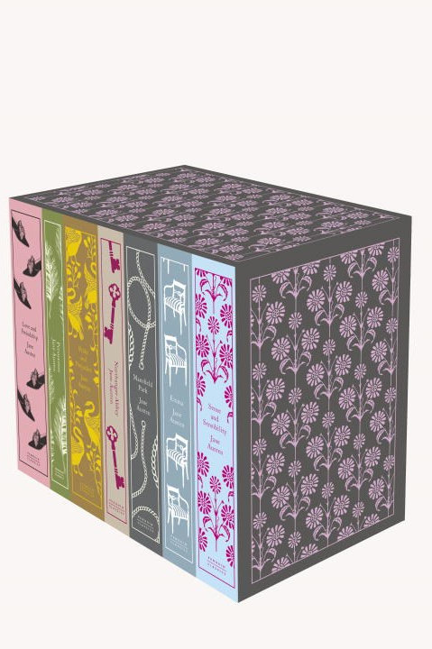 Jane Austen: The Complete Works 7-Book Boxed Set: Classics Hardcover Boxed Set