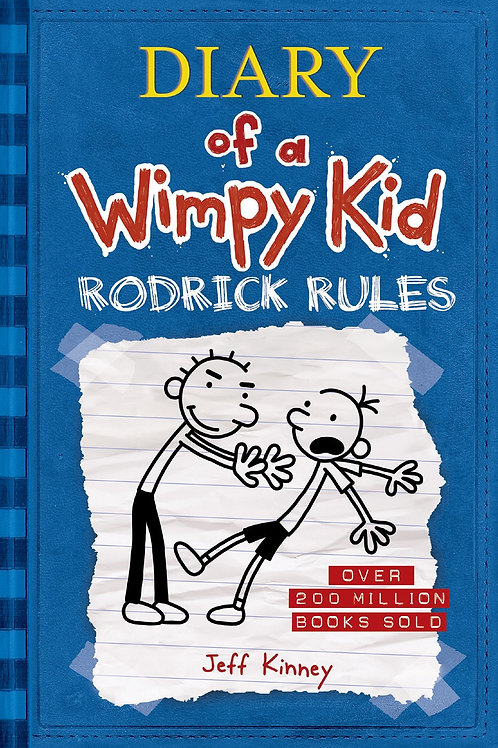 Diary Of A Wimpy Kid: Rodrick Rules, #2