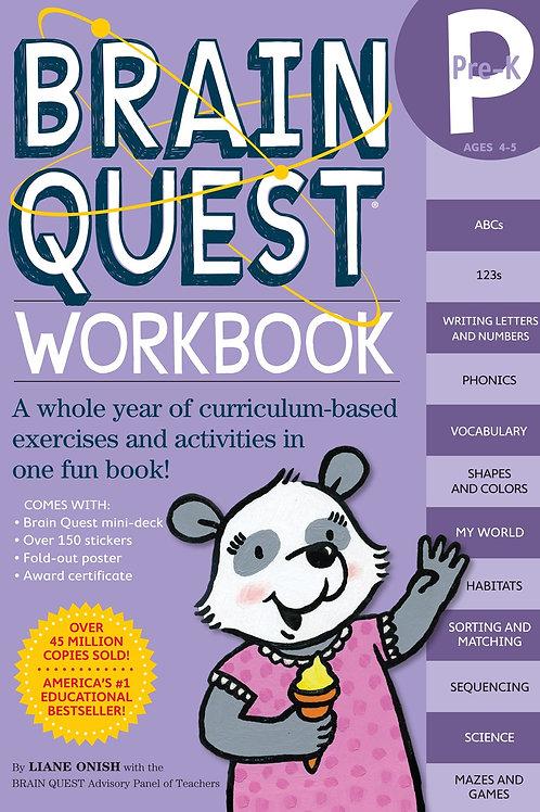 Brain Quest Workbooks, Pre-K to 6th Grade
