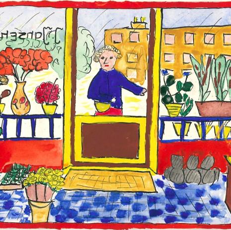De bloemenwinkel