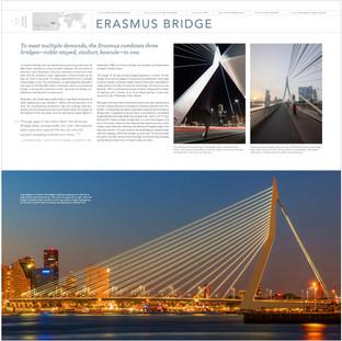 2 Spread: Erasmus Bridge (1996) Rotterdam