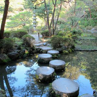 6. Stepping Stone Bridge  (16th cen.) Heian Shrine, Kyoto_Credit Judith Dupré