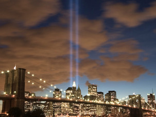 Tribute in Light, Illuminated