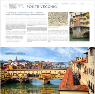 3. Spread: Ponte Vecchio, Florence