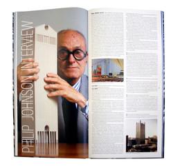 Skyscrapers spread Philip Johnson