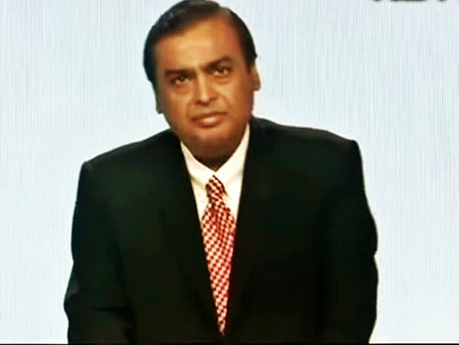 MUKESH AMBANI NOW BECAME FIFTH RICHEST MAN IN WORLD