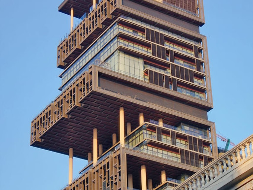 LARGEST HOUSE IN THE WORLD; ANTILIA.