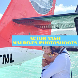 KGF actor Yash enjoys holidays in Maldives with family. Open to see the photos