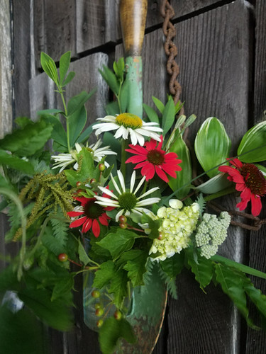 Flowers in the Barn Breezway
