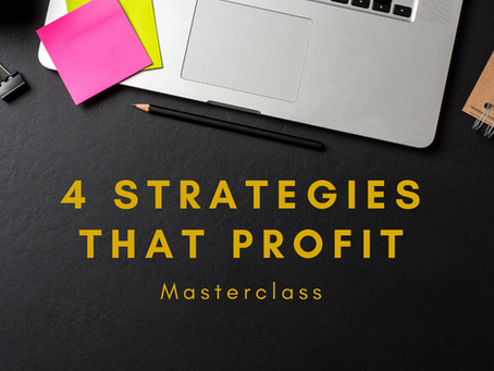 4 Forex Strategies That Profit