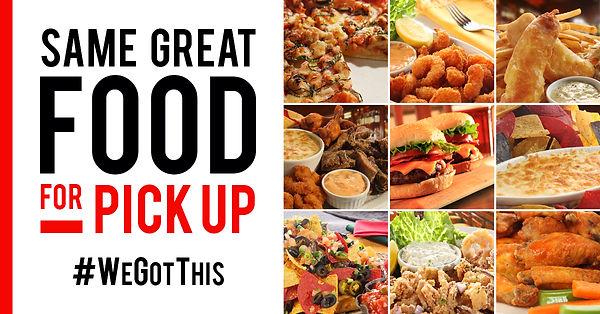 Same Great Food For Pickup - Facebook Gr