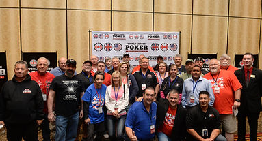 League poker players at the WLPC
