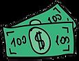dollar-bill-icon-cartoon-illustration-ha