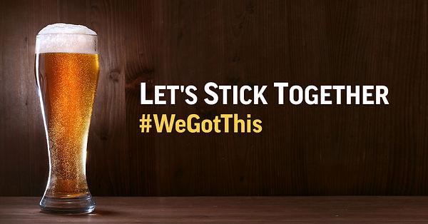 Lets Stick Together - Facebook Graphic.j