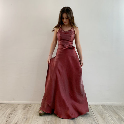Falda pareo rosado oscuro
