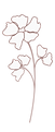 Flower clipart_brown.png
