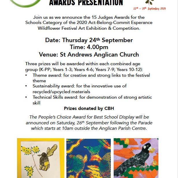 Schools Category Award Presentations